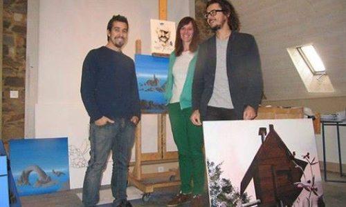 Pauline Buzaré, Alessandro Calizza, Antoine Carbonne