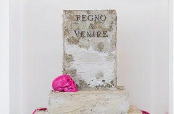 REGNO A VENIRE -  30x40 h50 - tecnica mista - 2016