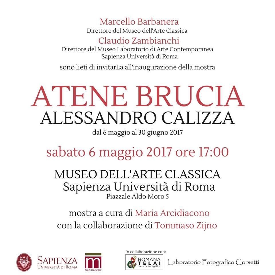 Atene Brucia invito