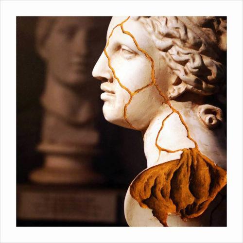GOLDEN CRACKS - edizione di 9 esemplari - 30x30cm - Alessandro Calizza - Eugenio Corsetti