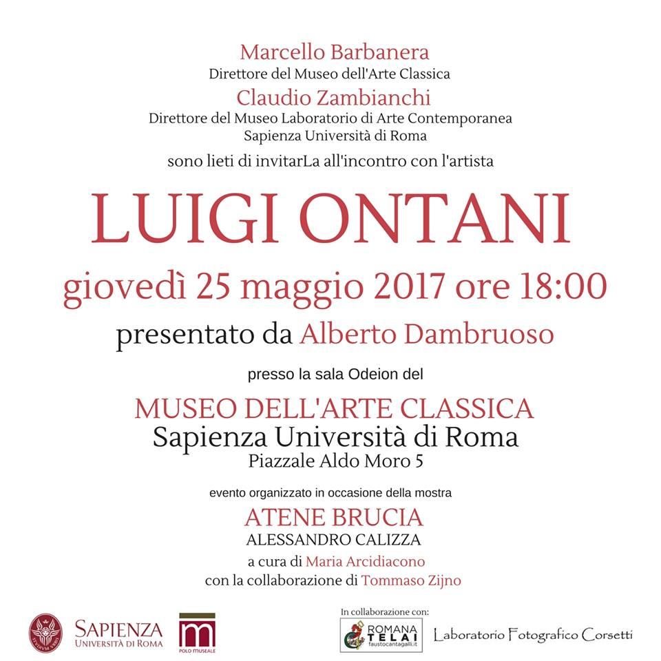 Luigi Ontani al Museo dellArte Classica di Roma