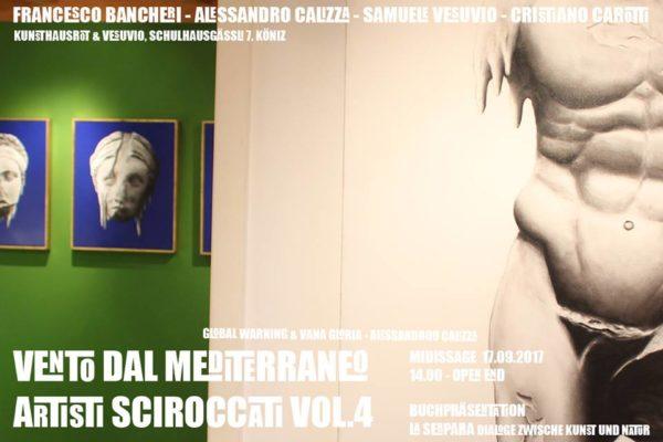 VENTO DAL MEDITERRANEO ARTISTI SCIROCCATI VOL. 4 exhib