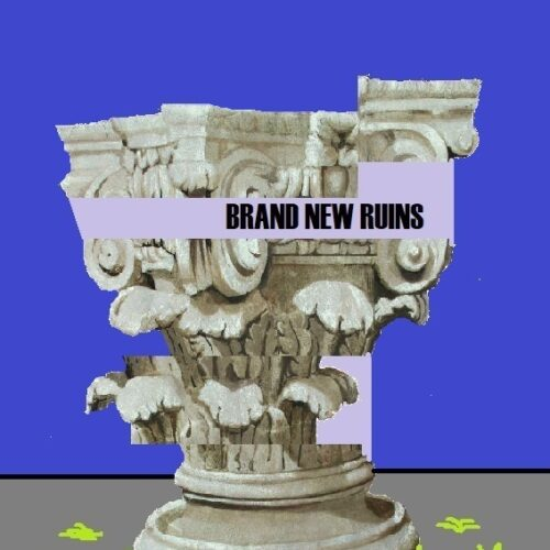 6a Brand New Ruins - 90x60 - stampa flatbed e acrilico su carta rospaspina